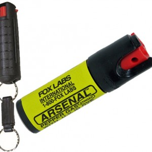 Fox Pepper Spray Can or Keychain