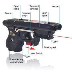JPX Pepper Gun With Laser