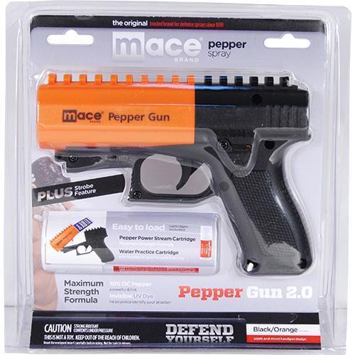 Mace Pepper Gun 2.0 with Strobe LED