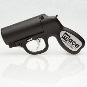 MACE FLASHING STROBE PEPPER GUN