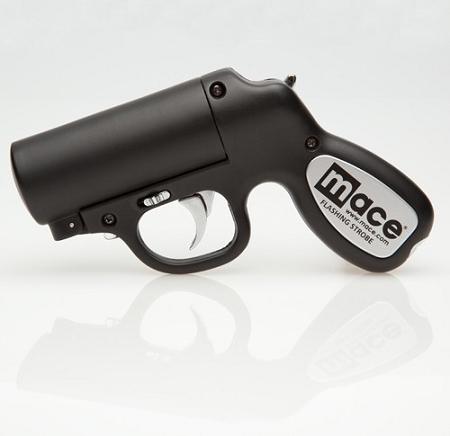 MACE FLASHING STROBE PEPPER GUN