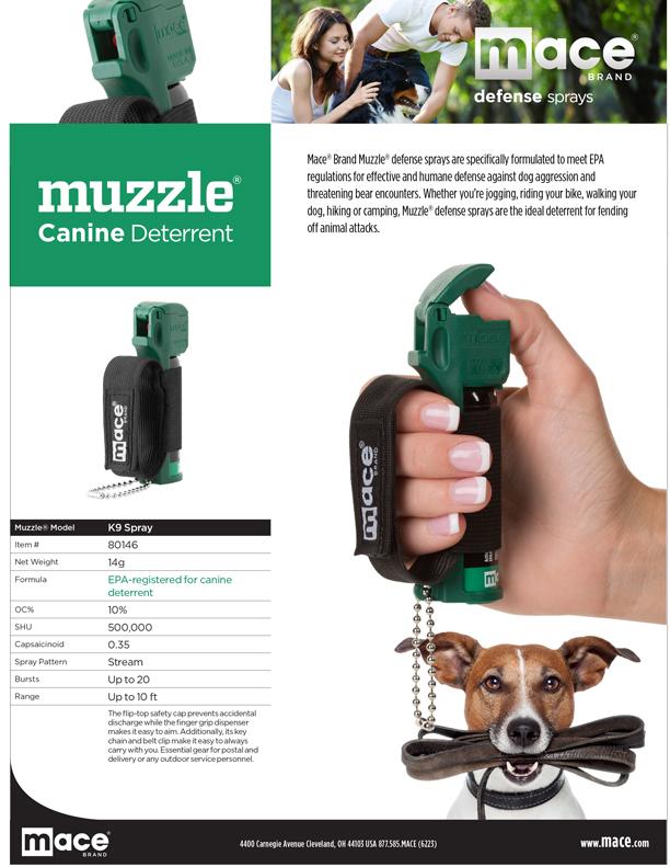 Mace Dog Repellent Pepper Spray