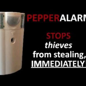 PepperAlarm - The Robber Stopper