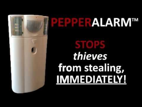 PepperAlarm - The Robber Stopper