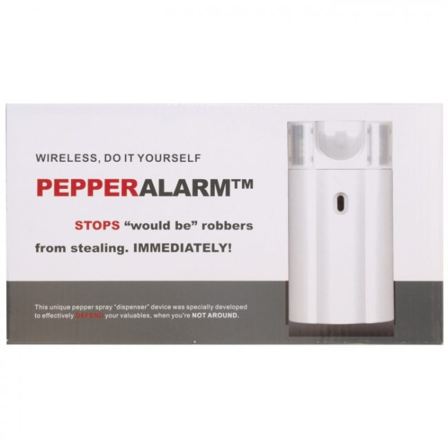 Pepper Spray Alarm