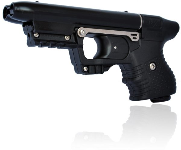 JPX PEPPER GUN WITH BLACK FRAME