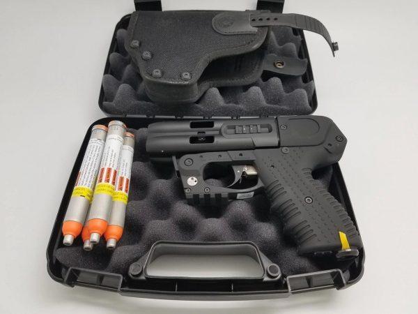 JPX4 4 SHOT PEPPER GUN COMPACT WITH CORDURA HOLSTER