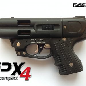 JPX4 4 Shot Pepper Gun Compact With Cordura Holster