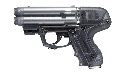 JPX 6 4 Shot Compact Pepper Gun With Laser