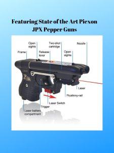 Piexon JPX Pepper Guns